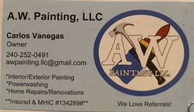 aw painting LLC Silver Spring, MD Thumbtack