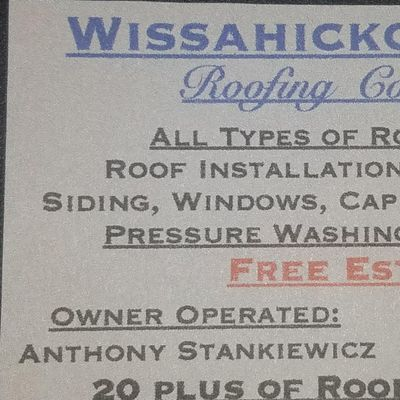 Avatar for Wissahickon Crick Roofing Philadelphia, PA Thumbtack