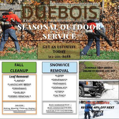 Avatar for DUEBOIS Seasonal Outdoor Service Cincinnati, OH Thumbtack