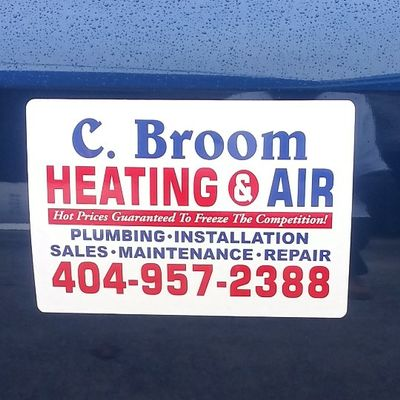 Avatar for C.Broom Heating & Air Services Decatur, GA Thumbtack