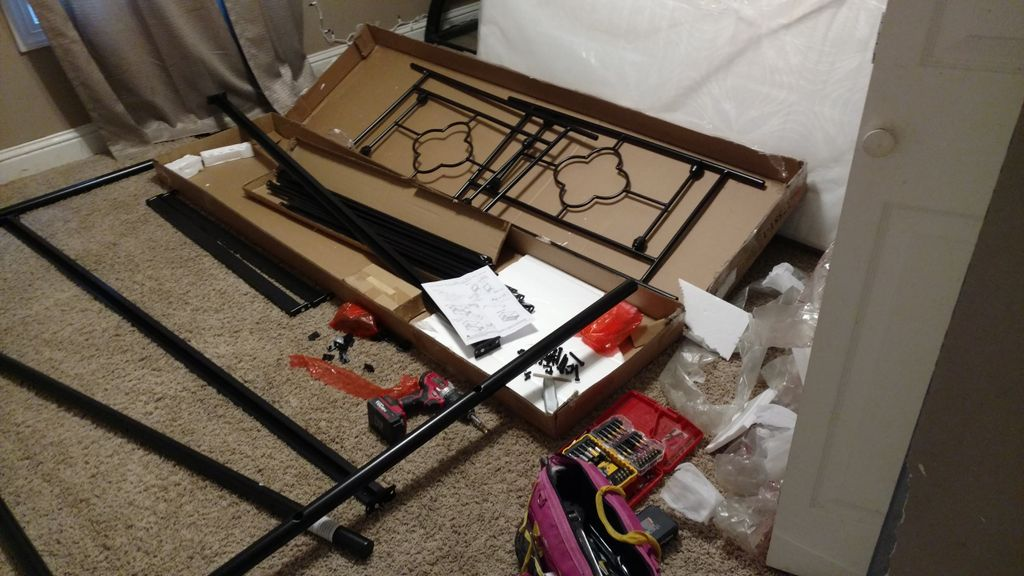 Canopy bed assembly