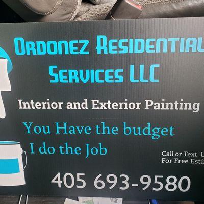Avatar for Ordonez Residential Services LLC Oklahoma City, OK Thumbtack