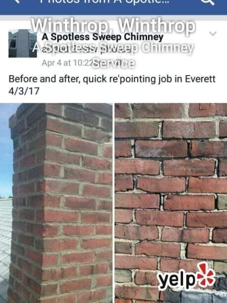 Repointing 4ft chimney