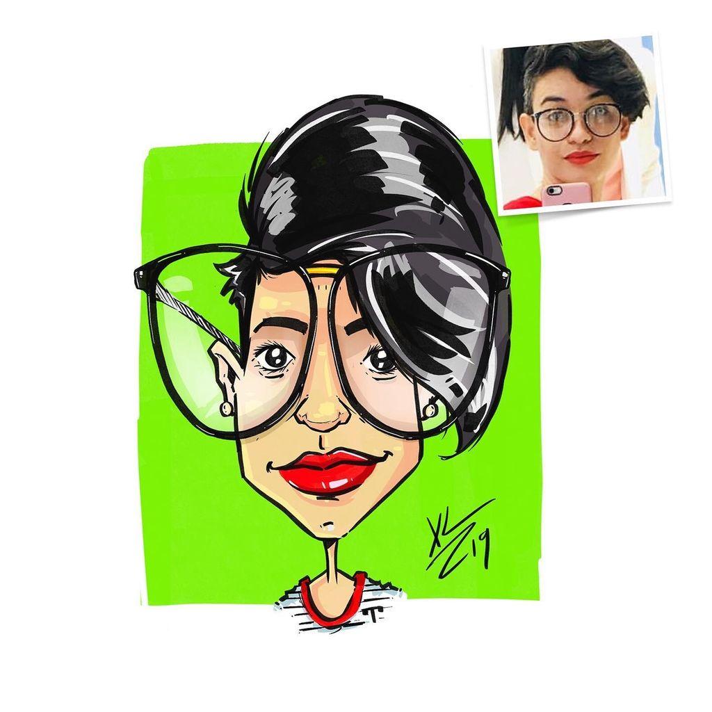 Quick Digital Caricatures