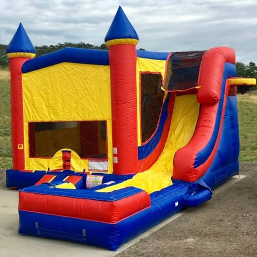 The Excalibur Combo-Wet Bounce Castle