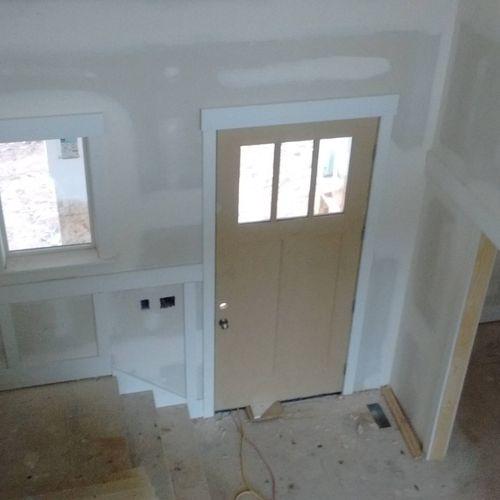 Doors/finish