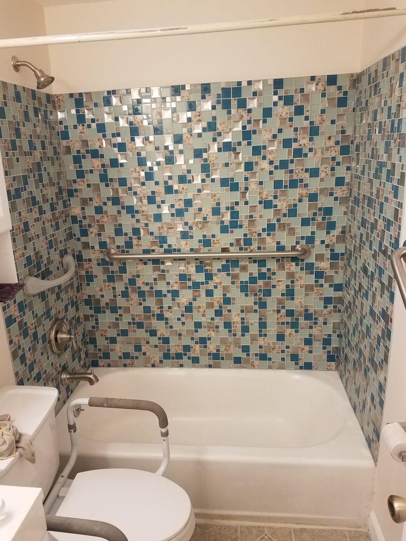 Shower tiles,plumbing work