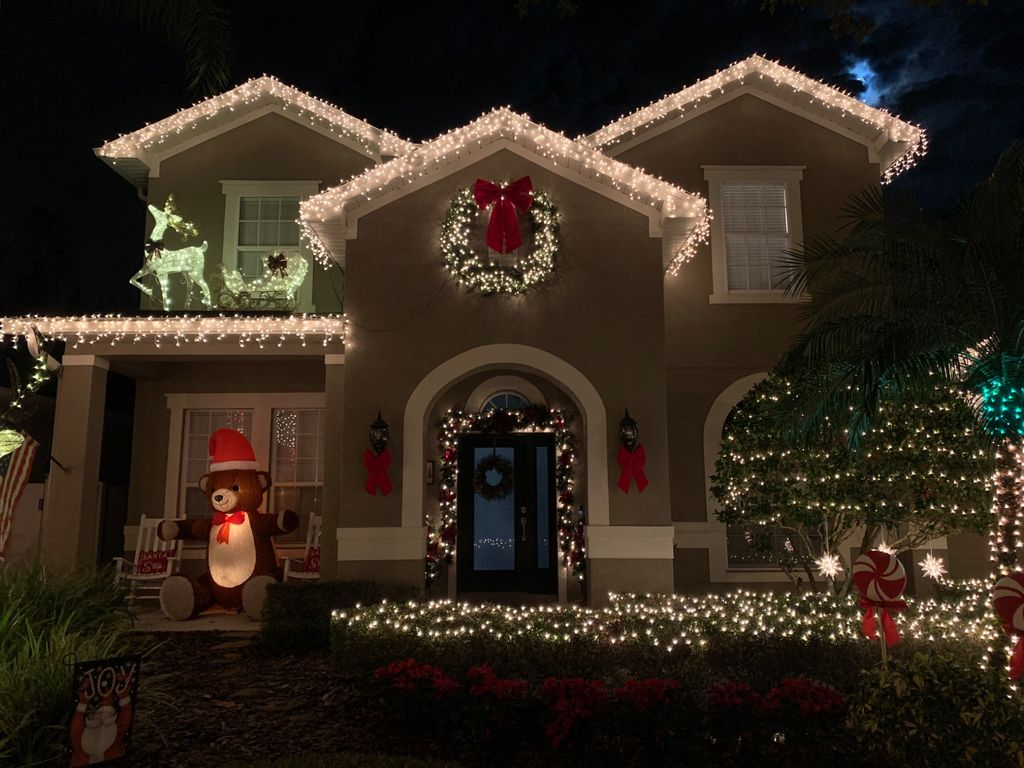 Holiday Lighting Installation and Removal - Tampa 2019