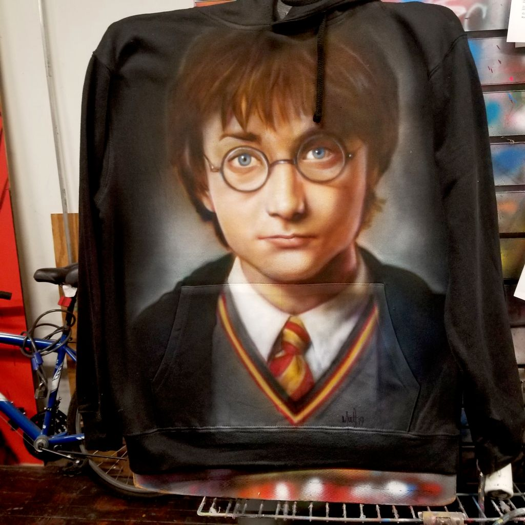 Harry Potter, Double Sided Portrait Hoodie