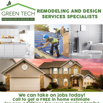 Avatar for Green Tech Remodeling & Design Inc. Valley Village, CA Thumbtack