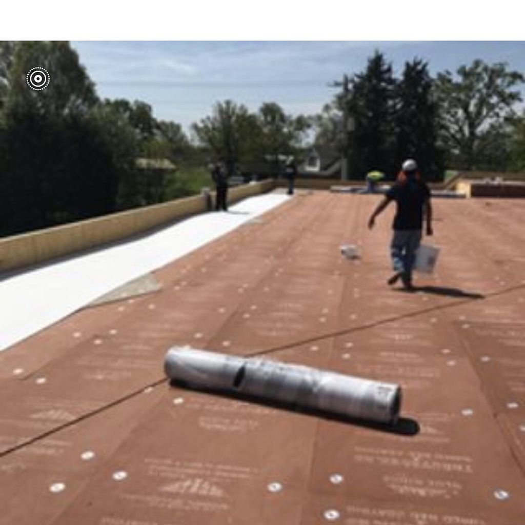 Single Ply Roof System