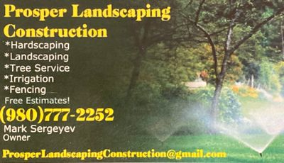 Avatar for Prosper Landscaping & Construction Charlotte, NC Thumbtack