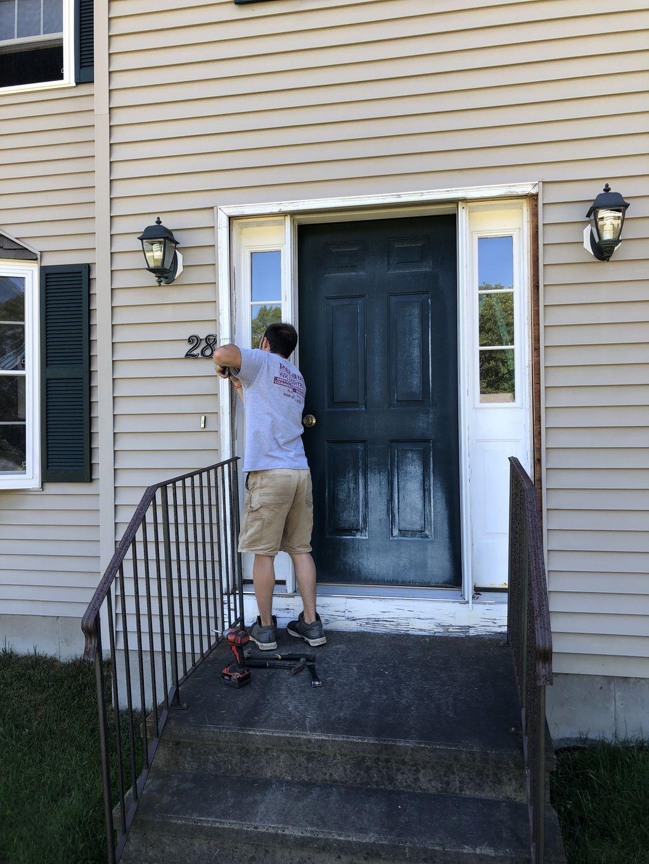 Front door job