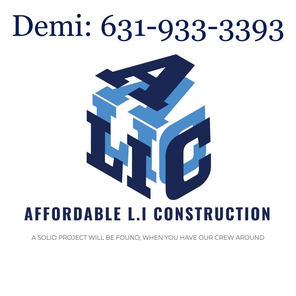 Affordable L.I Construction