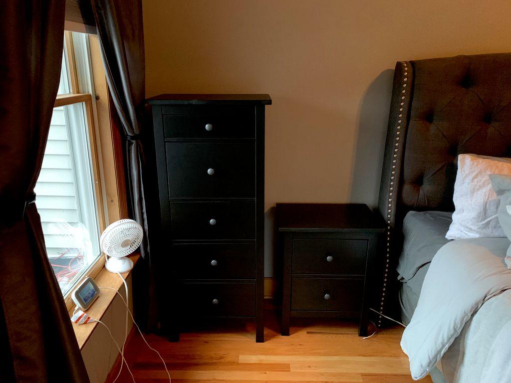 Hemnes Dressers and Nightstand