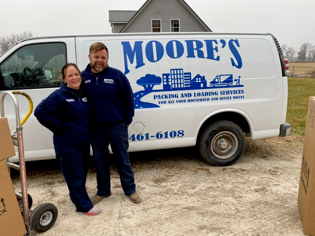 Moore's Packing & Moving service's