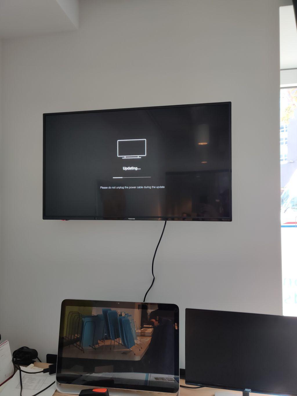 TV in Office