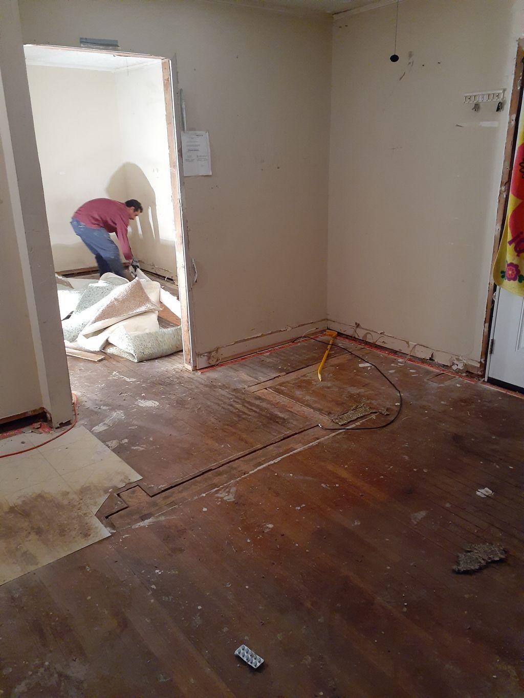 Indoors demolition