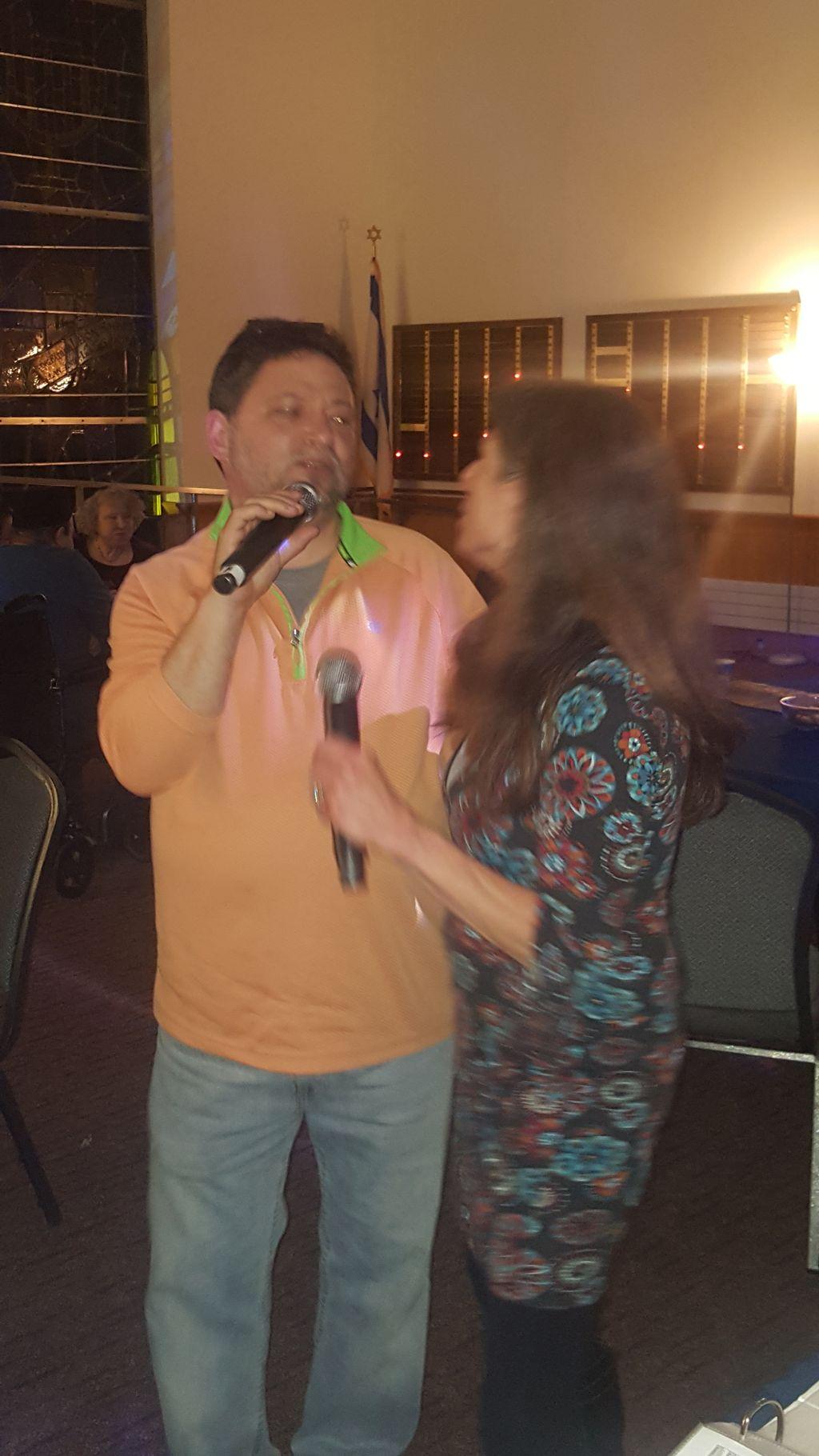 Rabbi Jennifer karaoke part