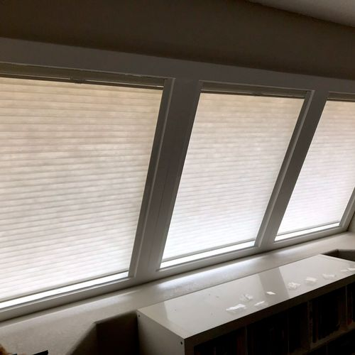 Solutions for slanted windows available