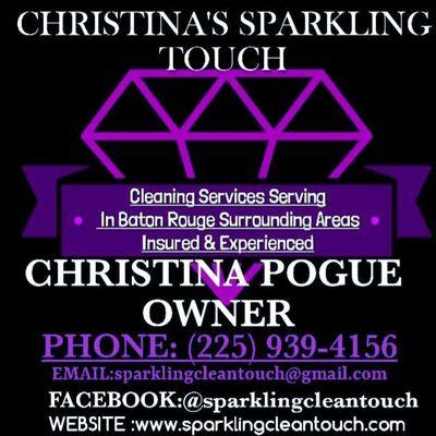 Avatar for Christina's Sparkling Touch