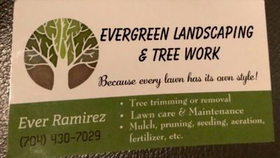 Avatar for Evergreen Landscape and Tree Work Charlotte, NC Thumbtack