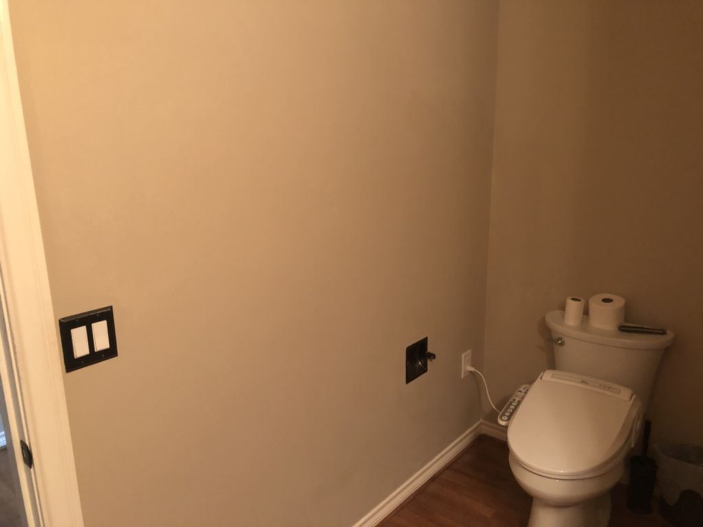 Added electrical and Drywall repair