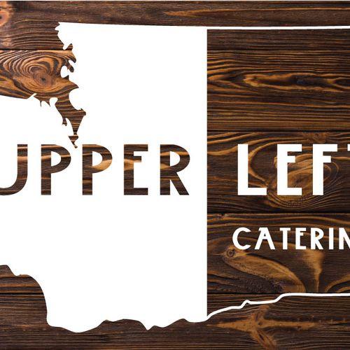 Logo for Upper Left Catering