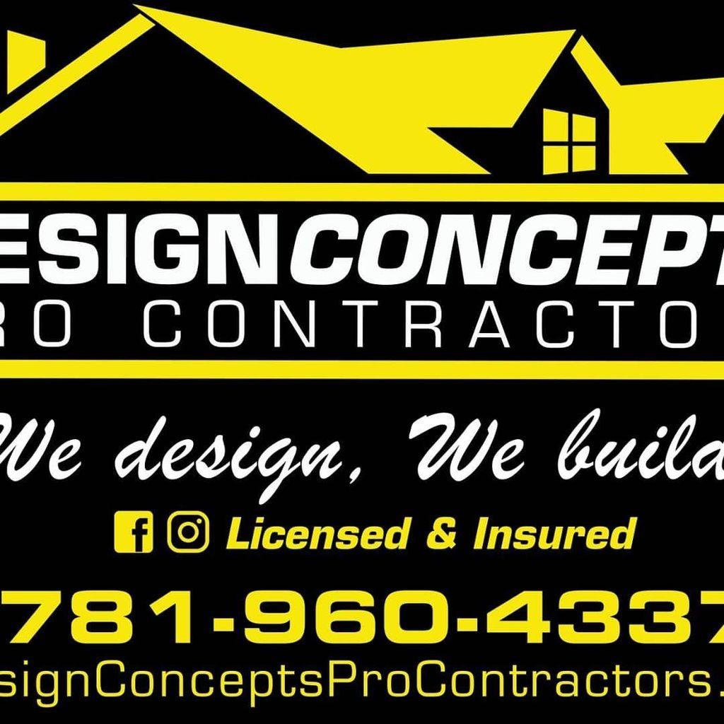 Design concepts pro contractors