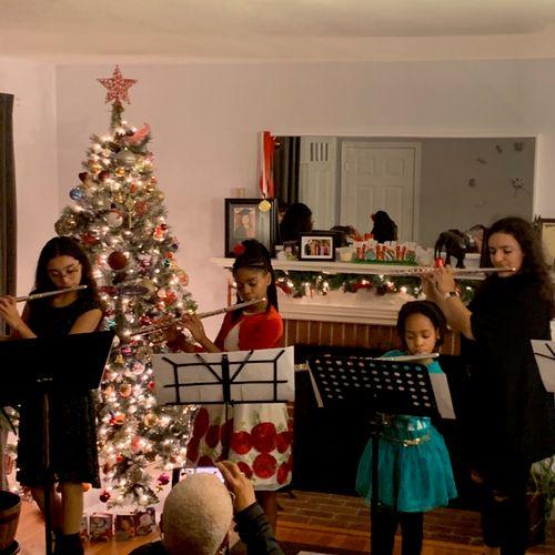 Holiday Flute Recital Dec 14, 2019