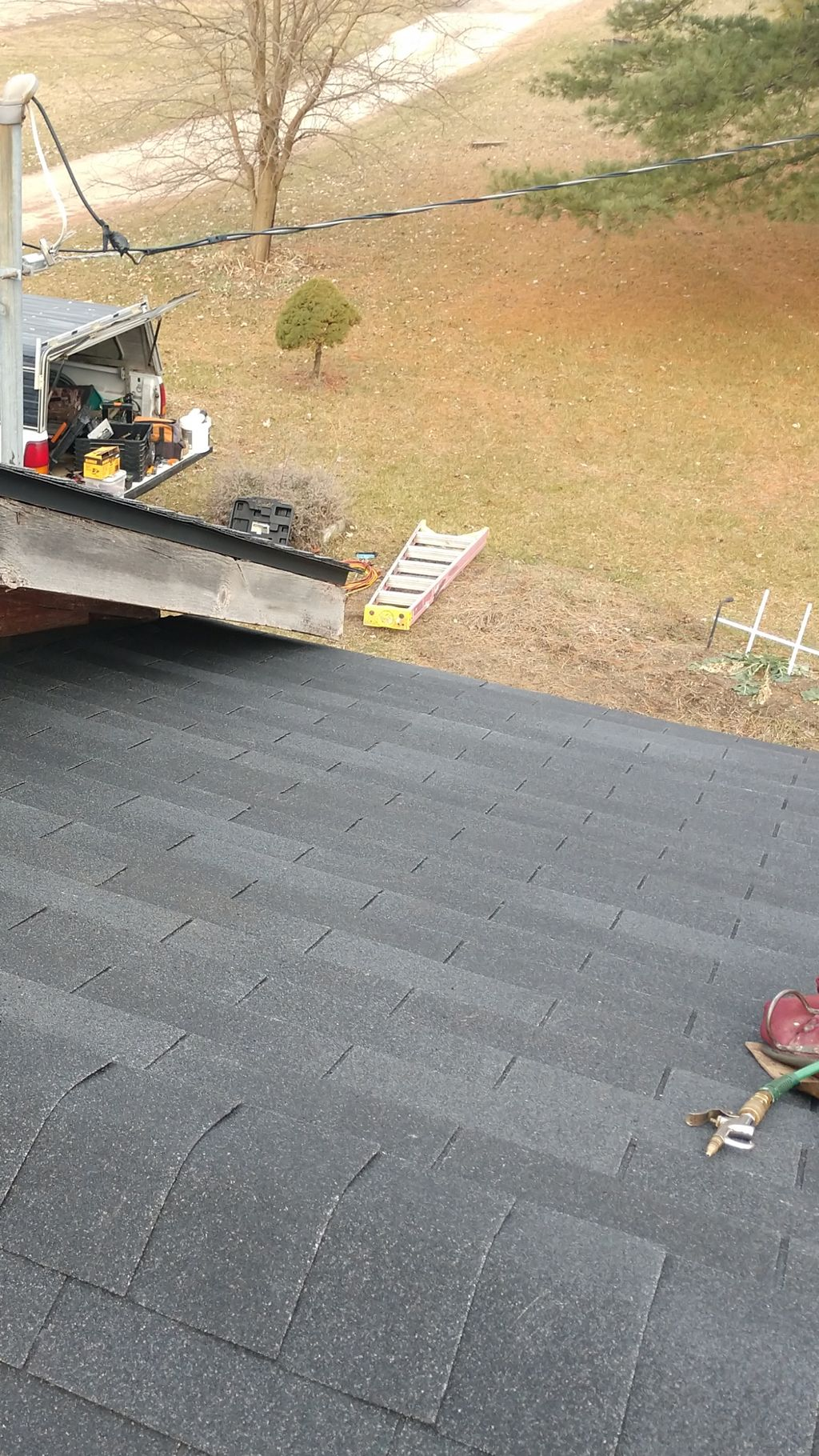 Tear off and reshingle addition