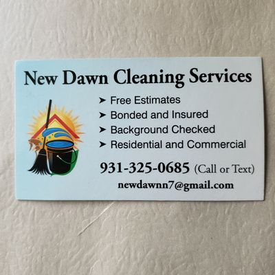 Avatar for New Dawn Cleaning Services Columbia, TN Thumbtack