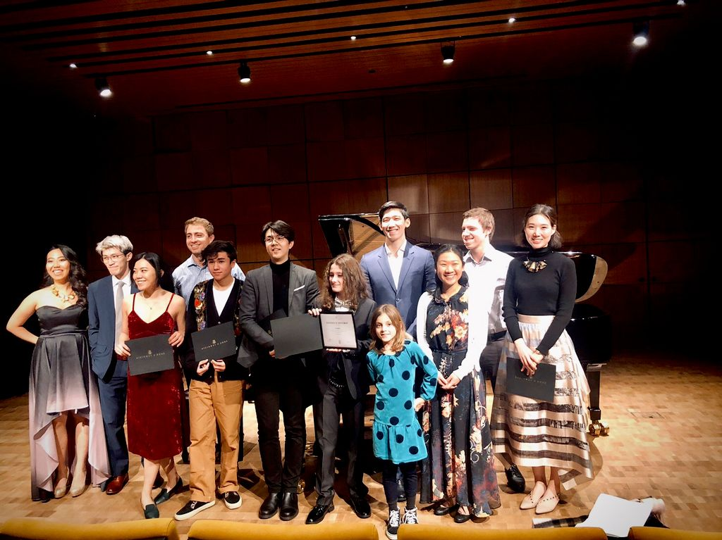 Student Recital at Steinway Hall
