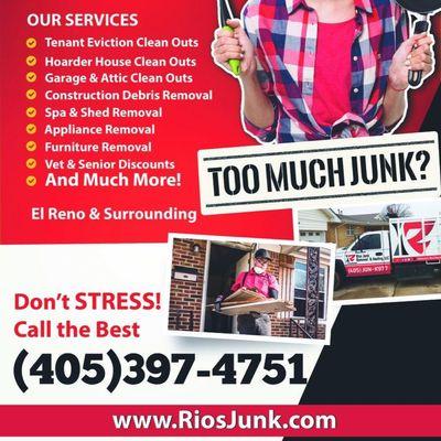 Avatar for Rios Junk Removal & Hauling LLC El Reno, OK Thumbtack