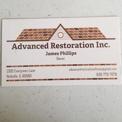 Avatar for Advanced Restoration Inc