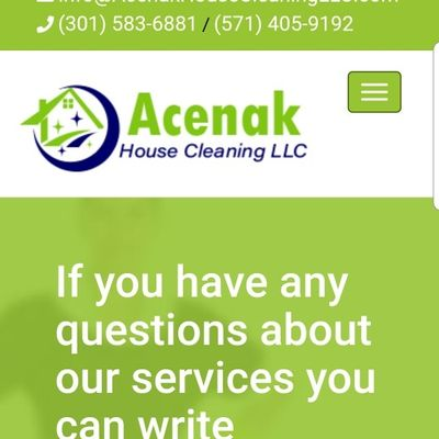 Avatar for Acenak House Cleaning LLC Springfield, VA Thumbtack