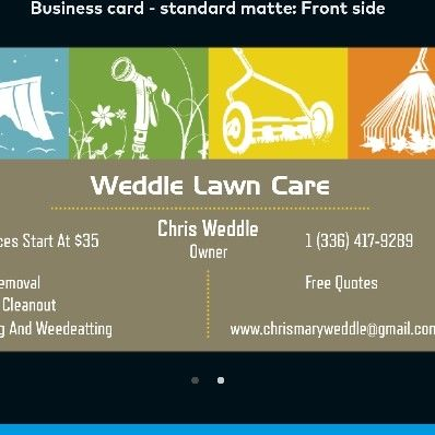 Avatar for Weddle Lawn Care