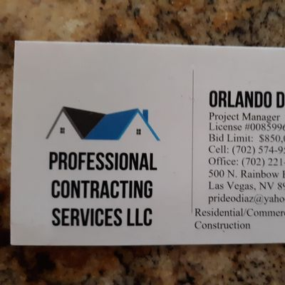 Avatar for Professional Contracting Services LLC