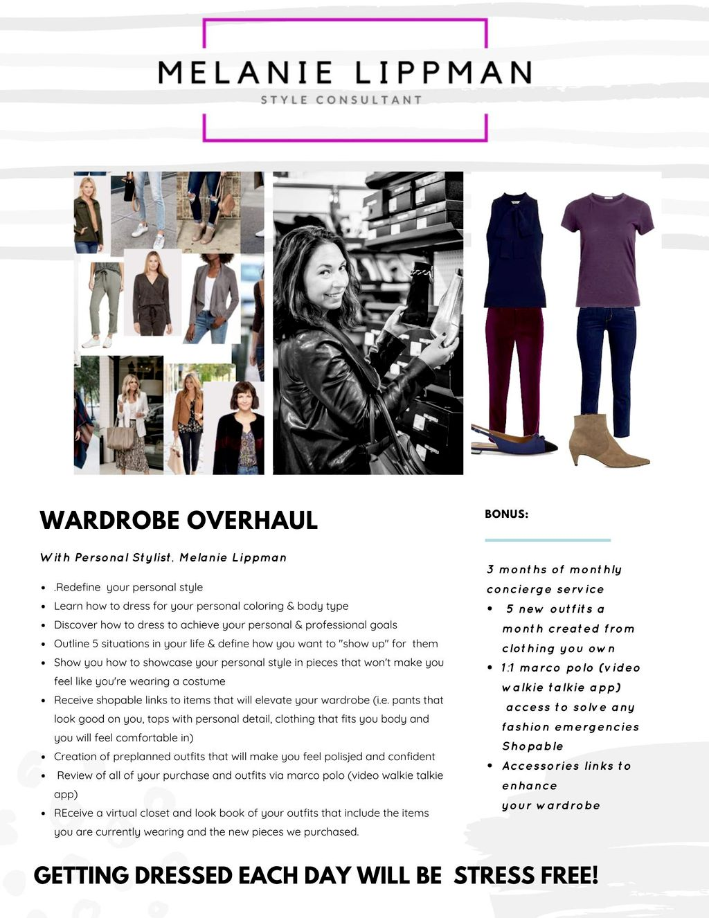 Gift Certificate for a Virtual Wardrobe Overhaul