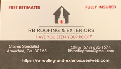 Avatar for RB ROOFING AND RENOVATIONS Rome, GA Thumbtack