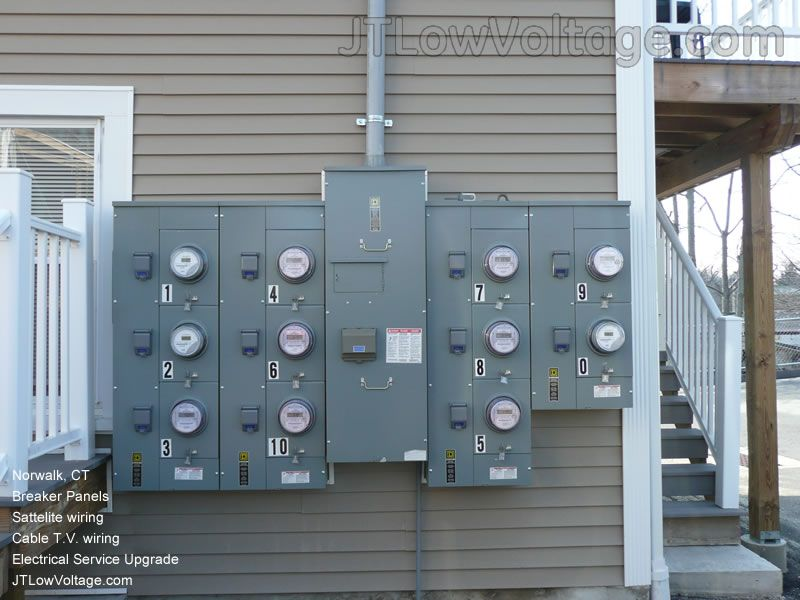 Upgrade new 200 amp services apartment complex and New Generator