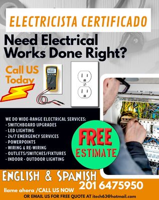 Avatar for EZY Power - Electrical Service LLC Little Ferry, NJ Thumbtack