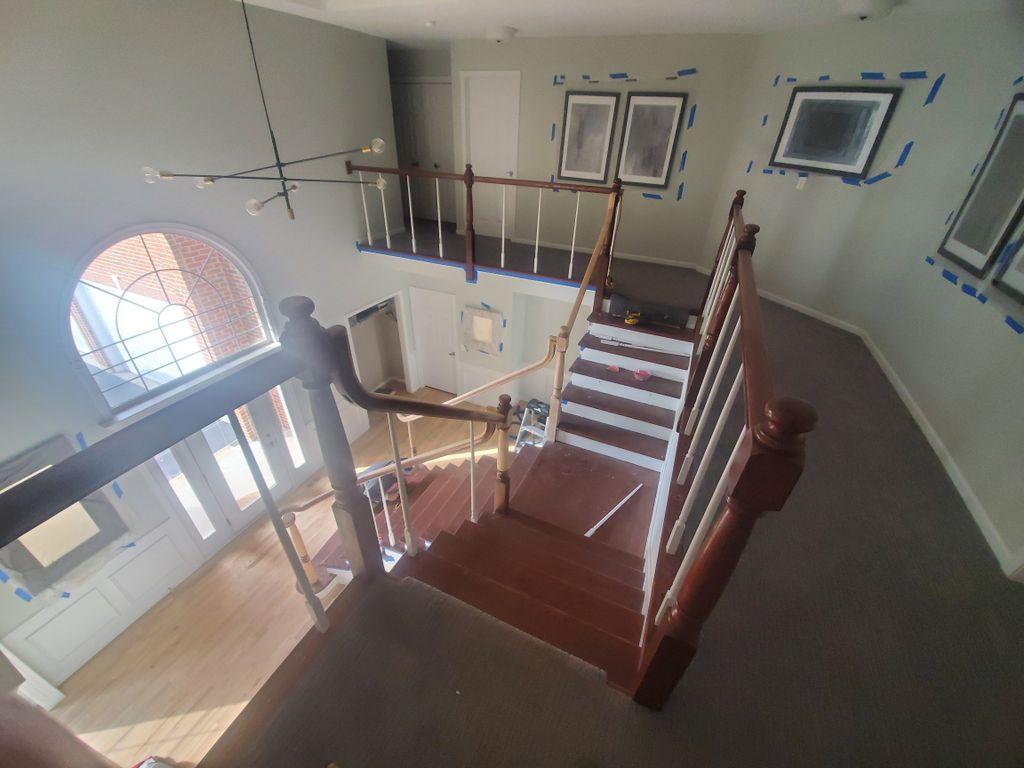 Carpet installation and Floor refinish