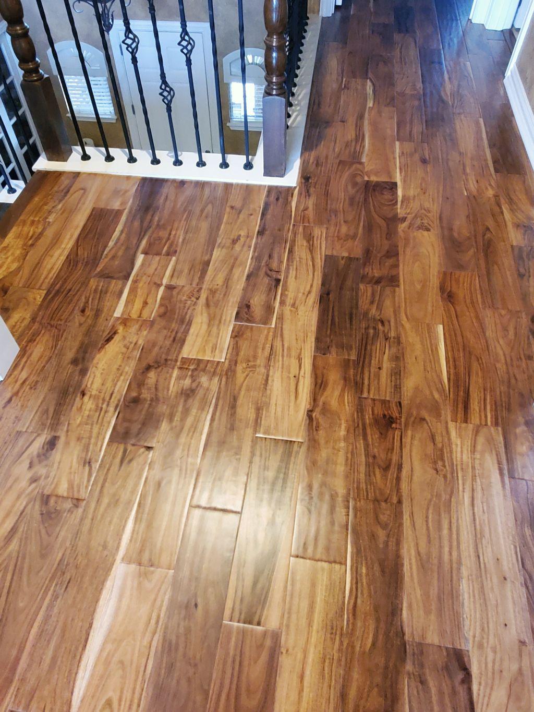Upstair wood floor replacement