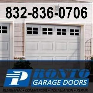 Avatar for Pronto Garage Doors Houston, TX Thumbtack