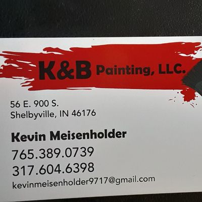 Avatar for K&b painting Shelbyville, IN Thumbtack