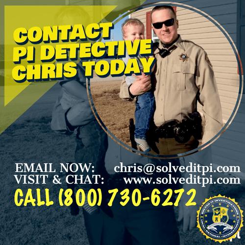 Meet Detective Chris