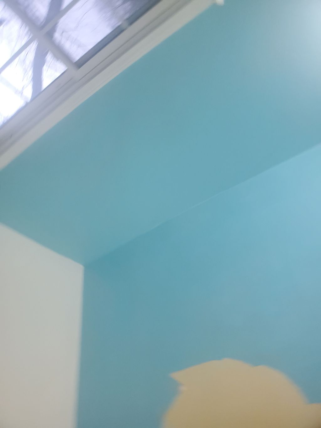 Interior wallpaper removal and painting