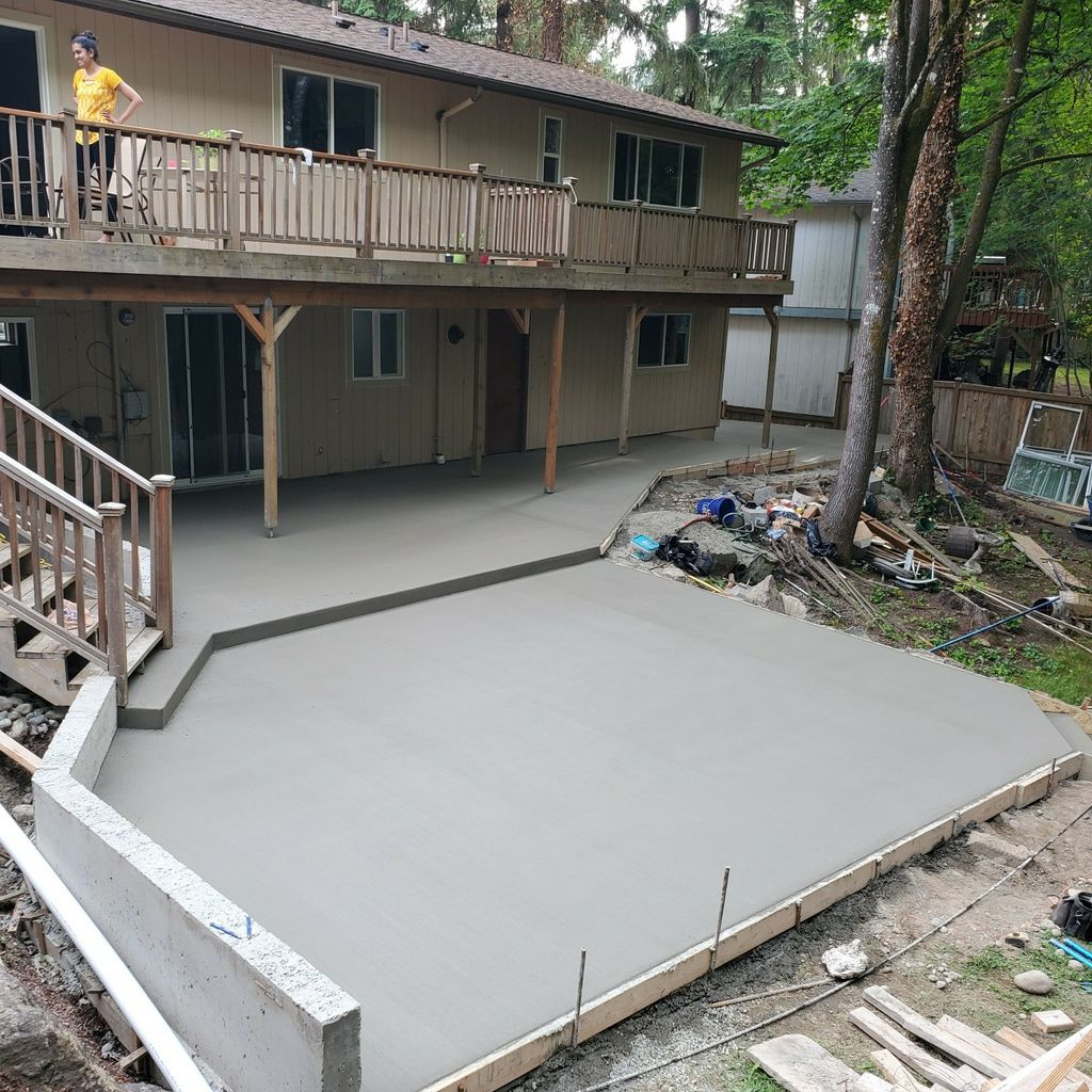 Tucksons concrete finishing LLC