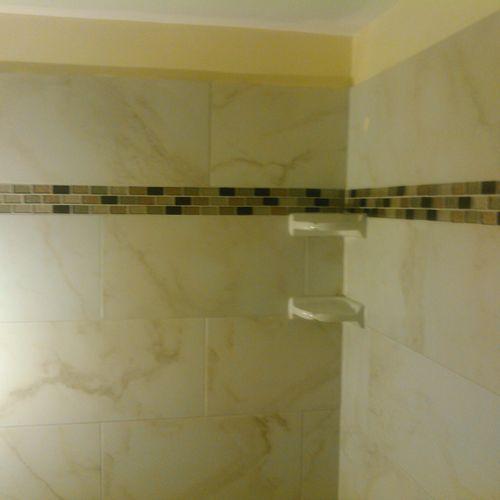 Tiled Shower 2800